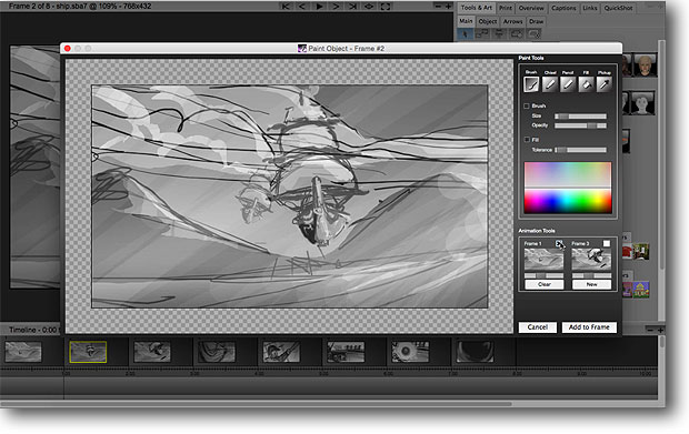 Storyboard Software Storyboard Artist Studio For Media Professionals Easy And Fast